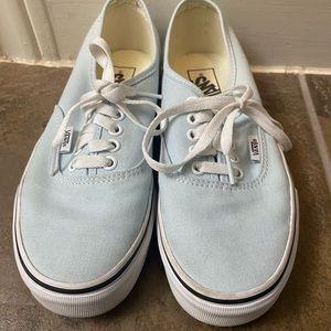 Vans Light Blue Shoes